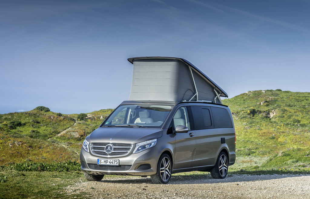 Caravan-Salon 2015: Mercedes-Benz steigert Präsenz im Reisemobilmarkt. © spothits/ Auto-Medienportal.Net/Terra Camper