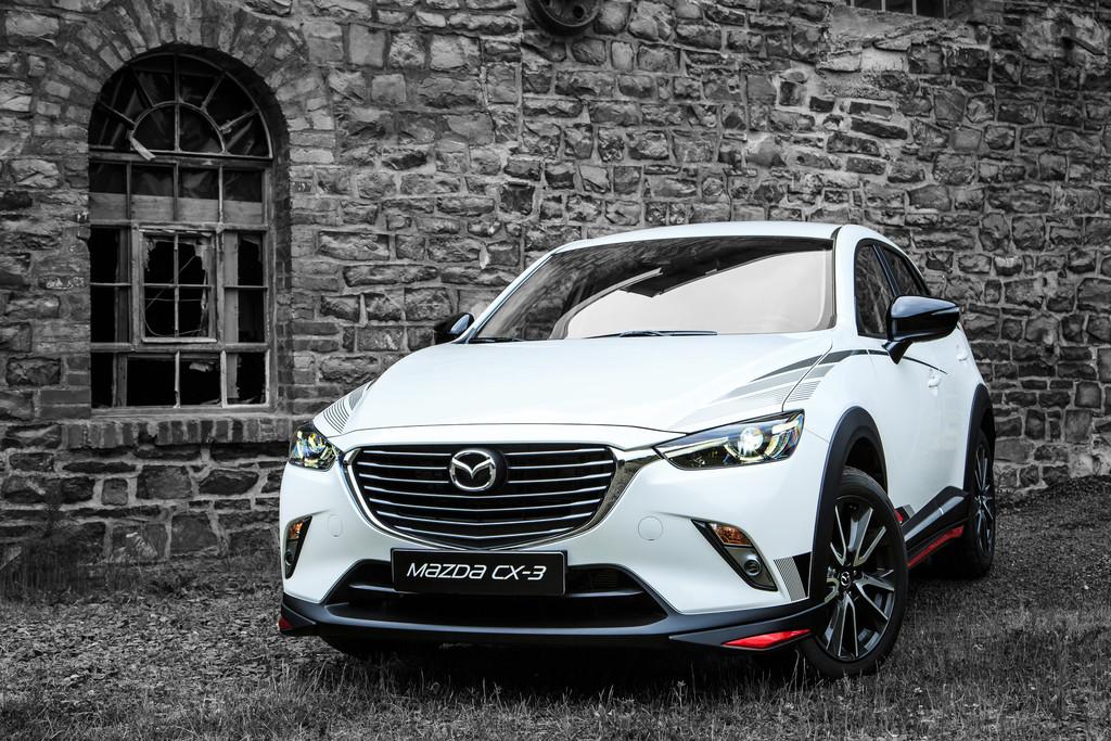 Mazda bietet Zubehör für CX-3. © spothits/Auto-Medienportal.Net/Mazda