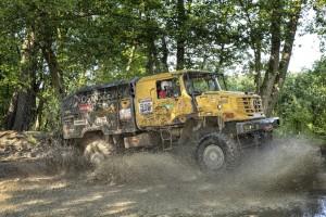 Drei Sieger bei Extrem-Offroad-Rallye Breslau Posen. © spothits/Auto-Medienportal.Net/Daimler/Paolo Baraldi