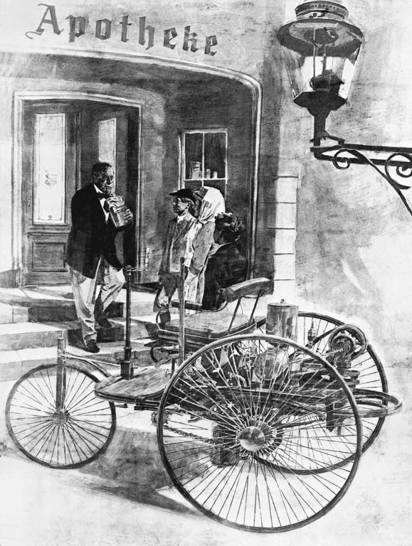 Benz Patent-Motorwagen für Wiesloch. © spothits/Auto-Medienportal.Net/Daimler