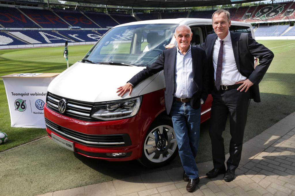 Volkswagen Nutzfahrzeuge und Hannover 96: Teamgeist verbindet. © spothits/Auto-Medienportal.Net/Volkswagen