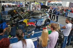 """WRC-Lauf Finnland: Latvala beim """"Heimspiel"""" wieder vorn. © spothits/Auto-Medienportal.Net/Krähling"""