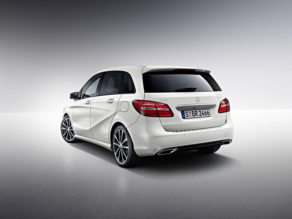 Mercedes-Benz bietet Dynamic Select für alle Kompakten. © spothits/Auto-Medienportal.Net/Daimler