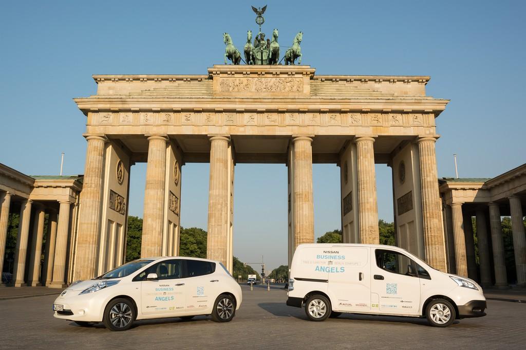 Nissan startet e-Carsharing-Programm für Berliner Startups. © spothits/Auto-Medienportal.Net/Nissan
