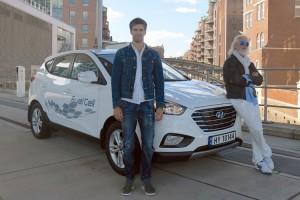 Hyundai ix35 Fuel Cell fährt 2383 km in 24 Stunden . © spothits/Auto-Medienportal.Net/Hyundai/Andrew Kaineder