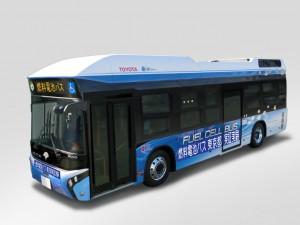 Toyota testet Brennstoffzellenbus. © spothits/Auto-Medienportal.Net/Toyota