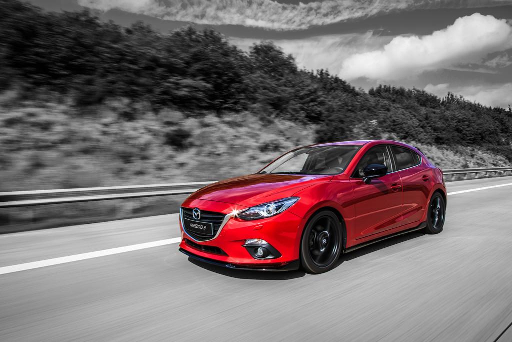 Mazda bringt Sondermodelle Black Limited und Urban Limited vom 3er. © spothits/Auto-Medienportal.Net/Mazda