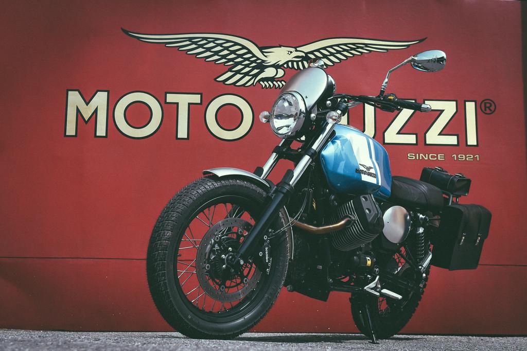 Große Sause bei Moto Guzzi. © spothits/Auto-Medienportal.Net/Moto Guzzi