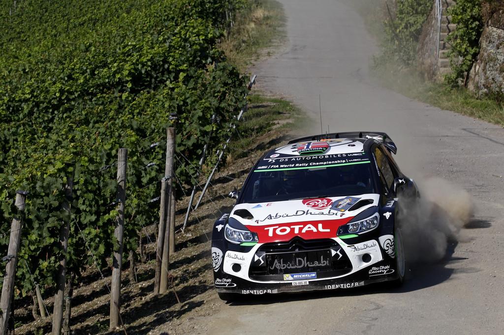 WRC 2015: Hattrick in Trier. © spothits/Auto-Medienportal.Net/Kräling