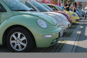 """Beetle Sunshinetour 2015"": Verliebt, verlobt, verbeetlet. © spothits/Auto-Medienportal.Net/av"
