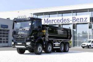150. Carnehl-Aufbau für Charter-Way. © spothits/Auto-Medienportal.Net/Daimler