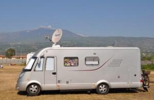 Caravan Salon 2015: Mobiles Internet im Reisemobil. © spothits/Filiago