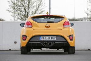 Test Hyundai Veloster 1.6 Turbo. © spothits/Hyundai