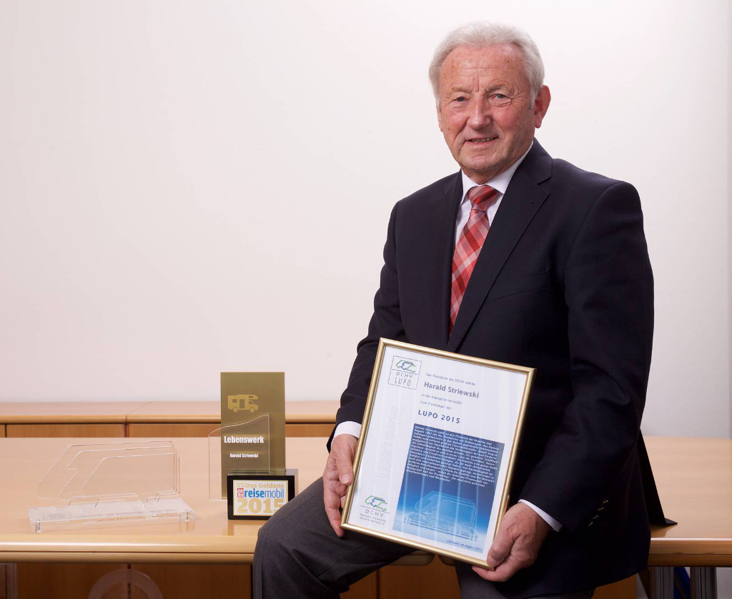Hobby-Chef Harald Striewski für Lebenswerk ausgezeichnet. © spothits/Hobby