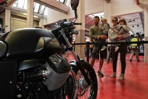 Moto Guzzi Open House 2015: Bescherrekord mit Motorrädern aus ganz Europa. © spothits/Moto Guzzi