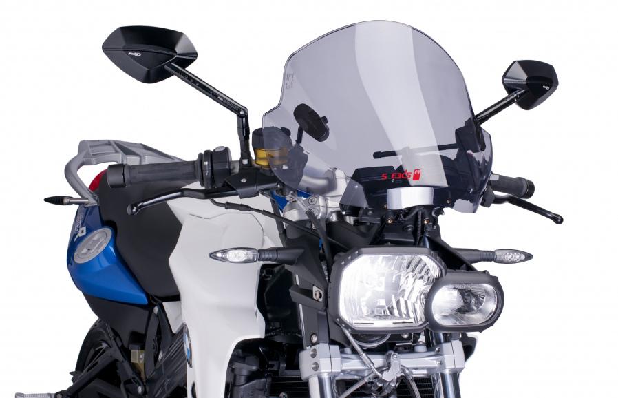 Wetterschutzscheibe Speeds Evolution montiert an BMW F800R. © spothits/Speeds Performance Parts