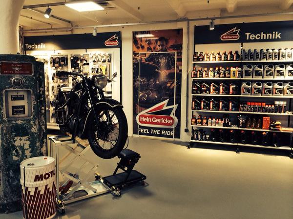 Hein Gericke erweitert Store mit Technikcenter. © spothits/Hein Gericke