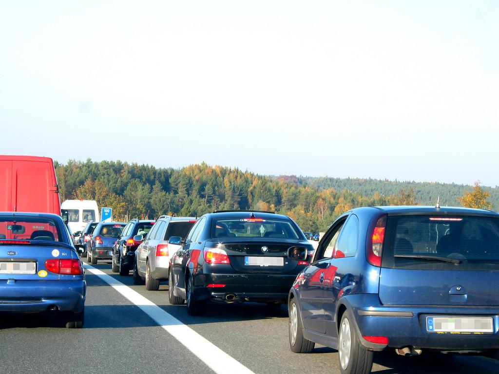 Stauprognose: Vor allem im Süden wird es noch einmal voller. © spothits/Auto-Medienportal.Net/ACE