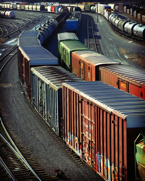 Weniger Güter auf der Schiene. © spothits/Auto-Medienportal.Net/Bundesumweltamt