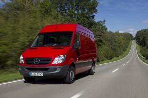 Mercedes-Benz ruft 11 000 Sprinter in die Werkstatt. © spothits/Auto-Medienportal.Net/Daimler
