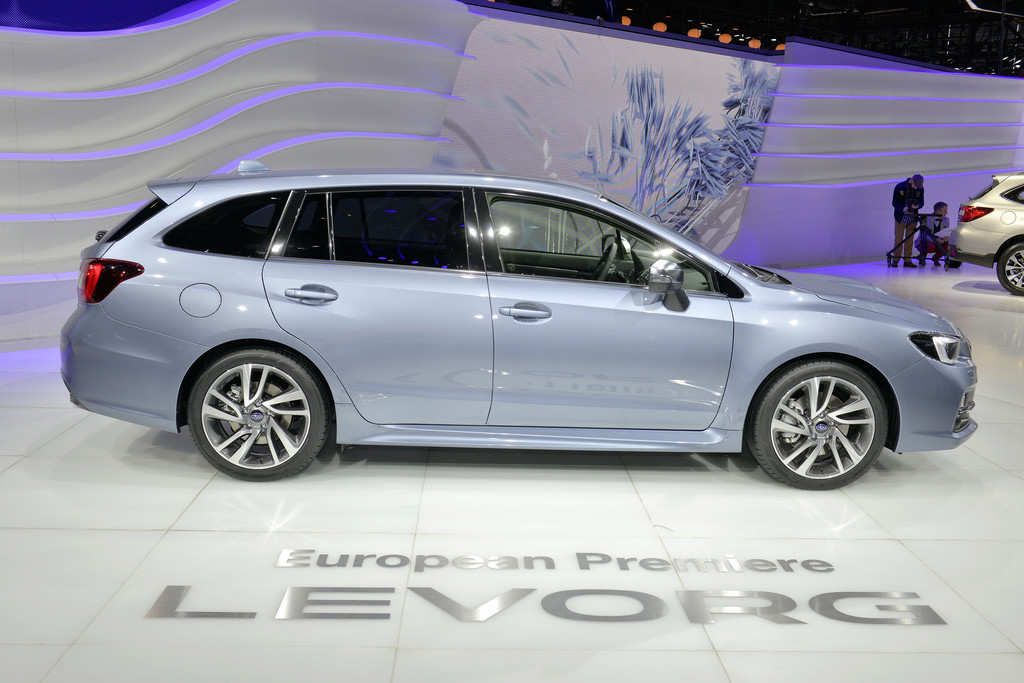 IAA 2015: Subaru Levorg rollt am vorletzten Tag in den Handel. © spothits/Auto-Medienportal.Net/Manfred Zimmermann