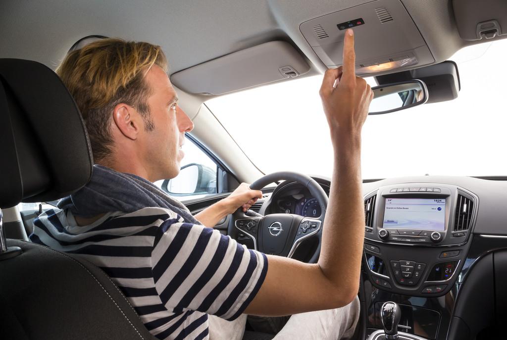 Opel startet Werbekampagne für Onstar. © spothits/Auto-Medienportal.Net/Opel