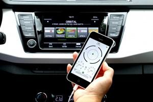 Skoda holt Fahrzeugdaten aufs Smartphone. © spothits/Auto-Medienportal.Net/Skoda
