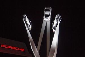 Porsche weiht 911-Skulptur ein. © spothits/Auto-Medienportal.Net/Porsche