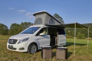 Caravan-Salon 2015: Hymer zeigt multifunktionale V-Klasse. © spothits/Auto-Medienportal.Net/Hymer