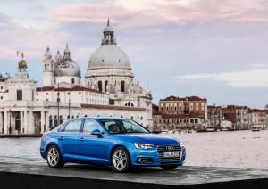 Audi A4: Vorsprung im Endspurt. © spothits/Auto-Medienportal.Net/Audi
