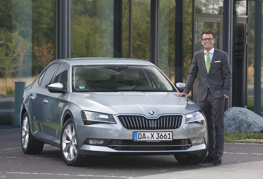 Quary wird Skoda-Vertriebschef. © spothits/Auto-Medienportal.Net/Skoda