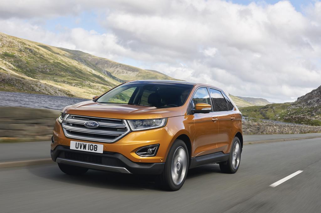 IAA 2015: Ford Edge kommt Mitte 2016. © spothits/Auto-Medienportal.Net/Ford