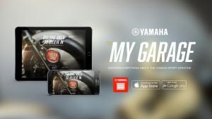 Yamaha-App parkt Sport-Heritage-Modelle. © spothits/Auto-Medienportal.Net/Yamaha