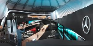 IAA 2015: Mercedes-Benz präsentiert sich in der Festhalle. © spothits/Auto-Medienportal.Net/MercedesBenz