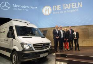 Mercedes-Benz feiert 20 Jahre Sprinter. © spothits/Auto-Medienportal.Net/Daimler