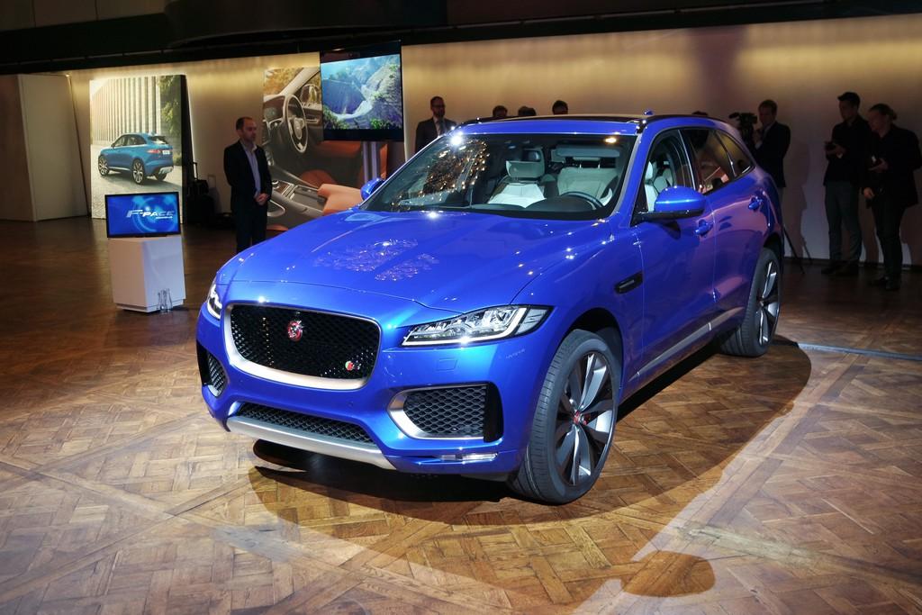 IAA 2015: Jaguar F-Pace ist mehr als ein SUV. © spothits/Auto-Medienportal.Net