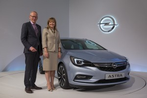 IAA 2015: Schon 30 000 Bestellungen für den Opel Astra. © spothits/Auto-Medienportal.Net/Opel