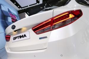 IAA 2015: Kia Optima weiter optimiert. © spothits/Auto-Medienportal.Net/Thomas Bräunig