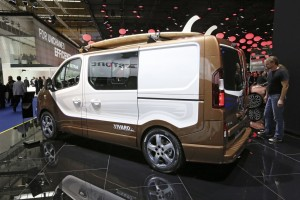 IAA 2015: So schön kann Van sein. © spothits/Auto-Medienportal.Net/Thomas Bräunig