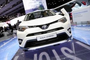 IAA 2015: Toyota hybridisiert den RAV4. © spothits/Auto-Medienportal.Net/Thomas Bräunig