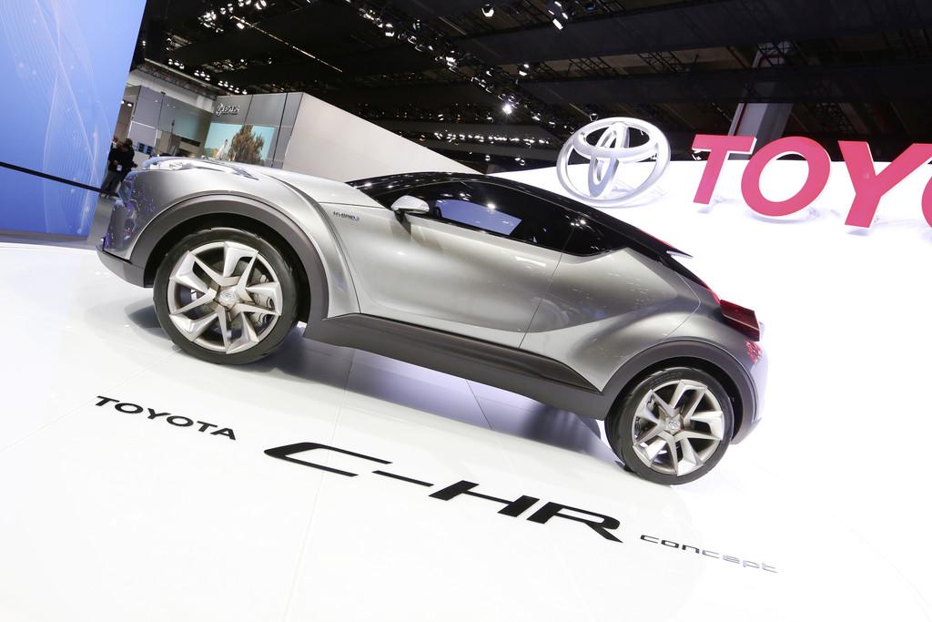IAA 2015: Toyota C-HR Concept mündet 2016 in ein Serienfahrzeug. © spothits/Auto-Medienportal.Net/Thomas Bräunig