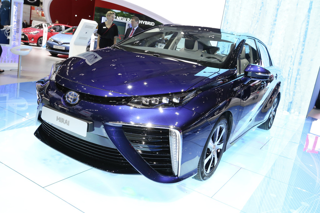 "Toyota Mirai ist ""Innovation des Jahrzehnts"". © spothits/Auto-Medienportal.Net/Thomas Bräunig"