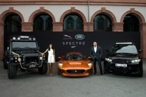IAA 2015: Jaguar Land Rover goes James Bond. © spothits/Auto-Medienportal.Net