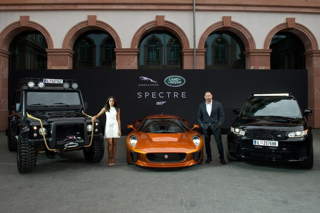 IAA 2015: Jaguar Land Rover goes James Bond. © spothits/Auto-Medienportal.Net