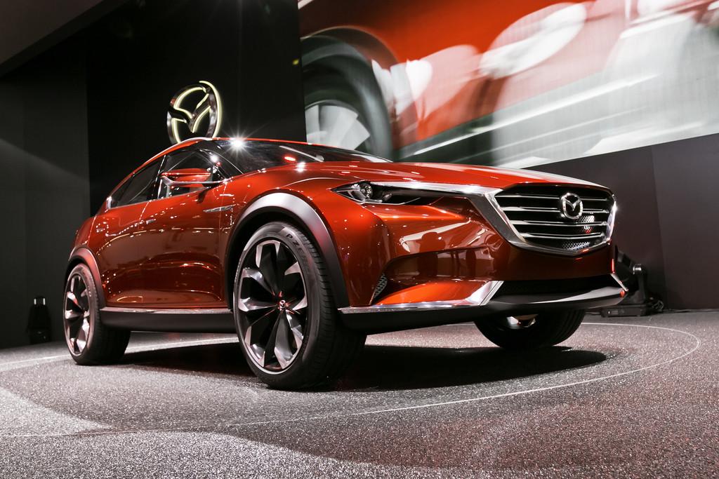 IAA 2015: Mazda schiebt noch ein SUV nach. © spothits/Auto-Medienportal.Net/Euromediahouse