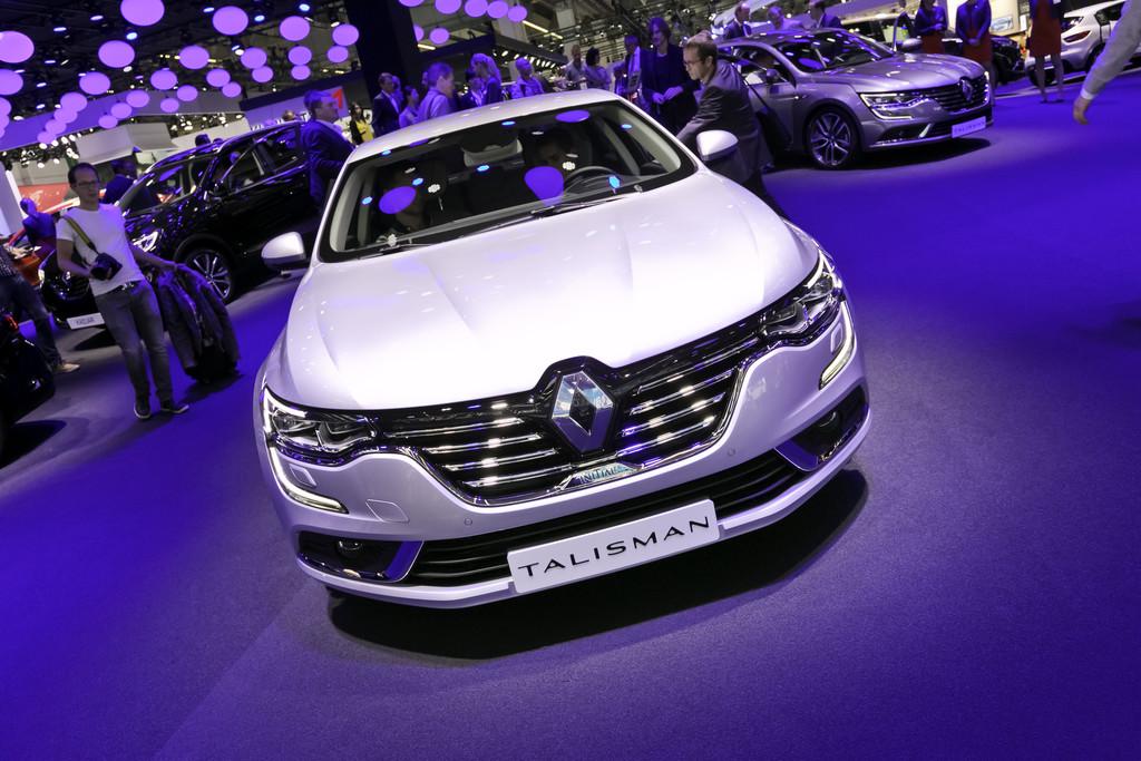 IAA 2015: Ein Talismann von Renault. © spothits/Auto-Medienportal.Net/Thomas Bräunig