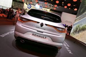IAA 2015: Renault Mégane lenkt mt allen Vieren. © spothits/Auto-Medienportal.Net/Thomas Bräunig