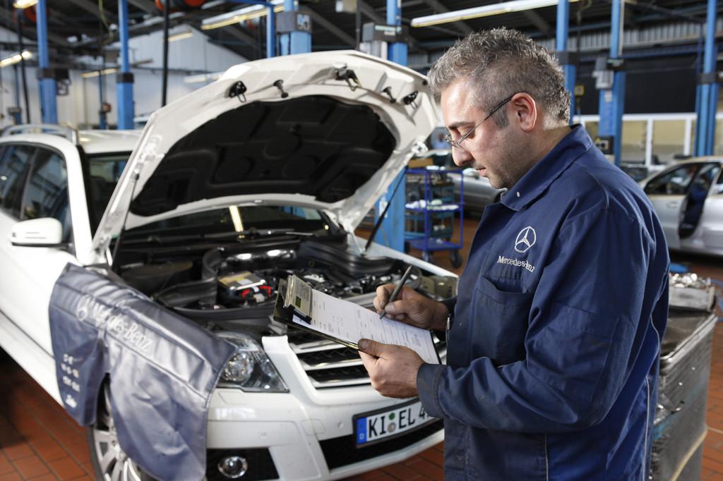 Mercedes-Benz und Mazda bieten den besten Service. © spothits/Auto-Medienportal.Net/Daimler