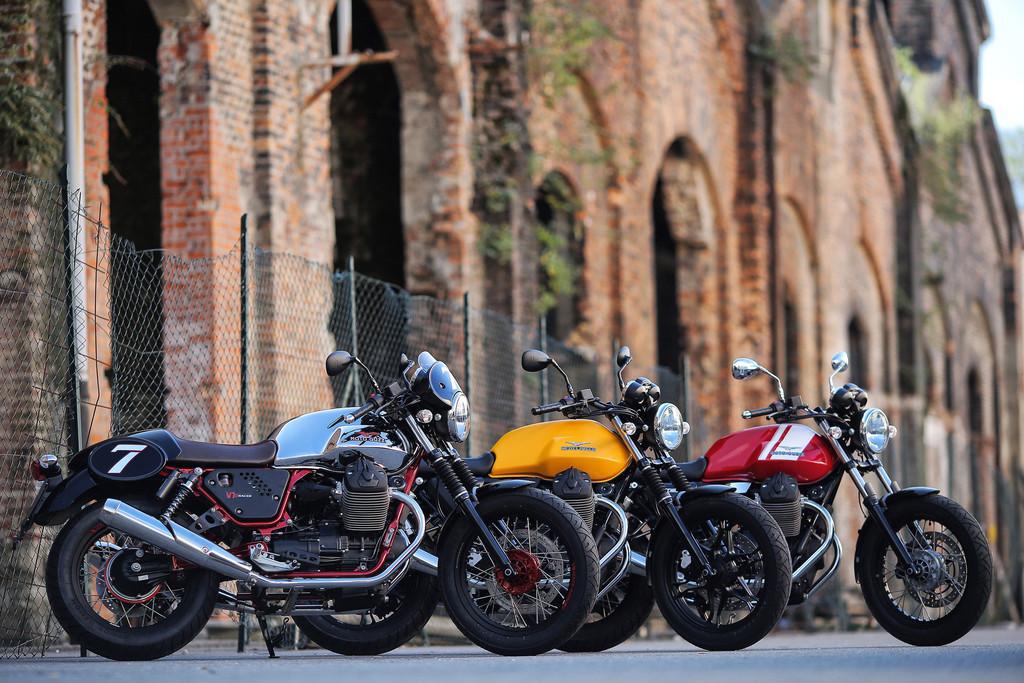 Moto Guzzi V7 mit 1000-Euro-Gutschein. © spothits/Auto-Medienportal.Net/Moto Guzzi