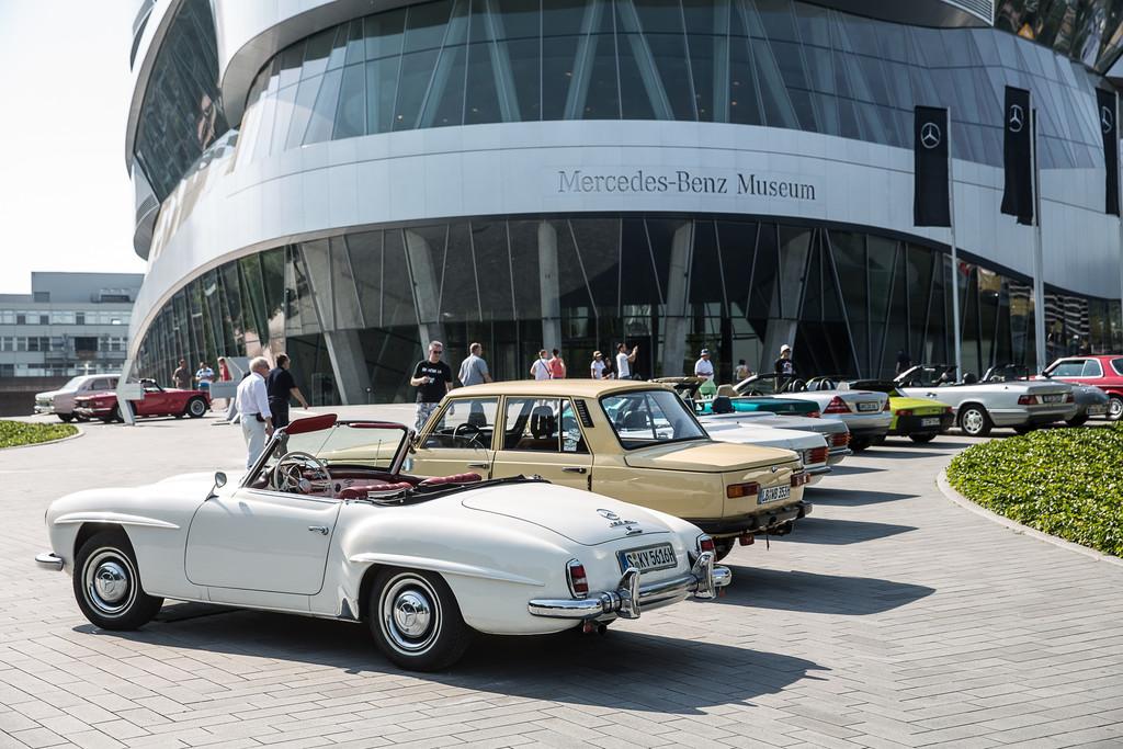 Erfolgreicher Sommer im Mercedes-Benz-Museum. © spothits/Auto-Medienportal.Net/Daimler